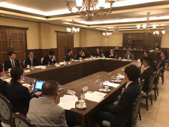 9月12日 4委員会合同委員会